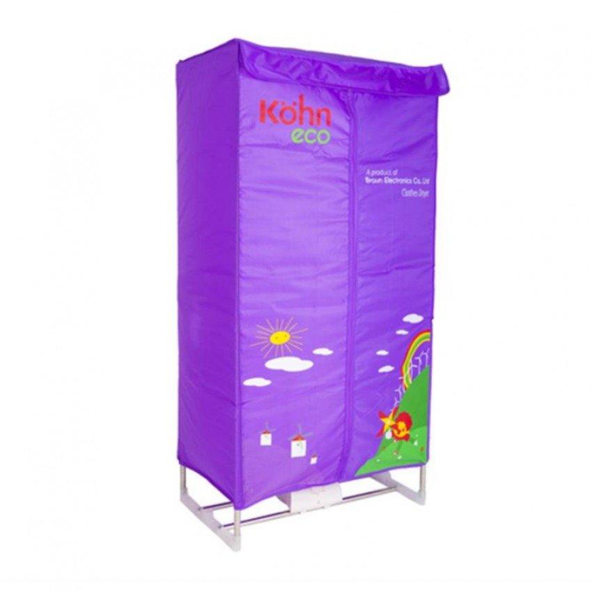 Máy sấy quần áo Kohn KS-02 (1200W) (Tím)