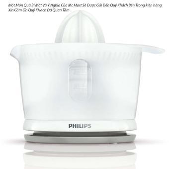 Máy vắt cam Philips HR2738 (Trắng) - Hàng nhập khẩu +