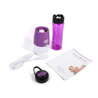Mini Juicer Machine Vegetable Fruit Blender Juicer Purple - intl