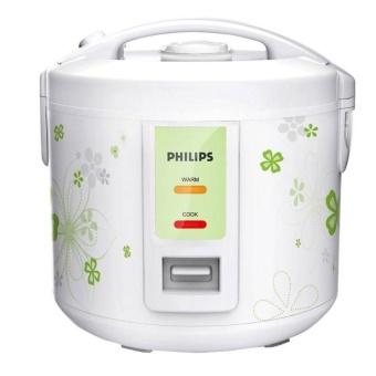 Nồi cơm điện Philips HD3017 1.8L (Trắng) - Hàng nhập khẩu