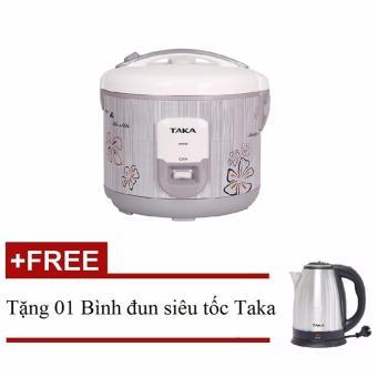 Nồi cơm điện Taka TKE668 + Tặng 01 Bình đun siêu tốc Taka TK-EK18D1cao cấp (inox304)