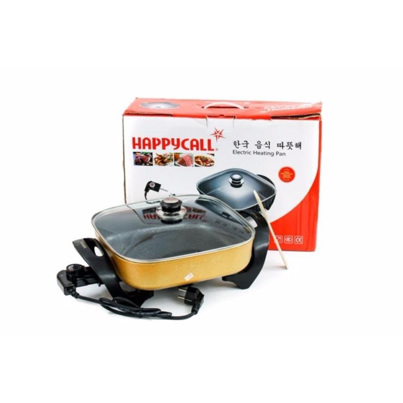 Nồi lẩu chảo điện chống dính 3 lớp Happyy Call HC-32F (Đen)