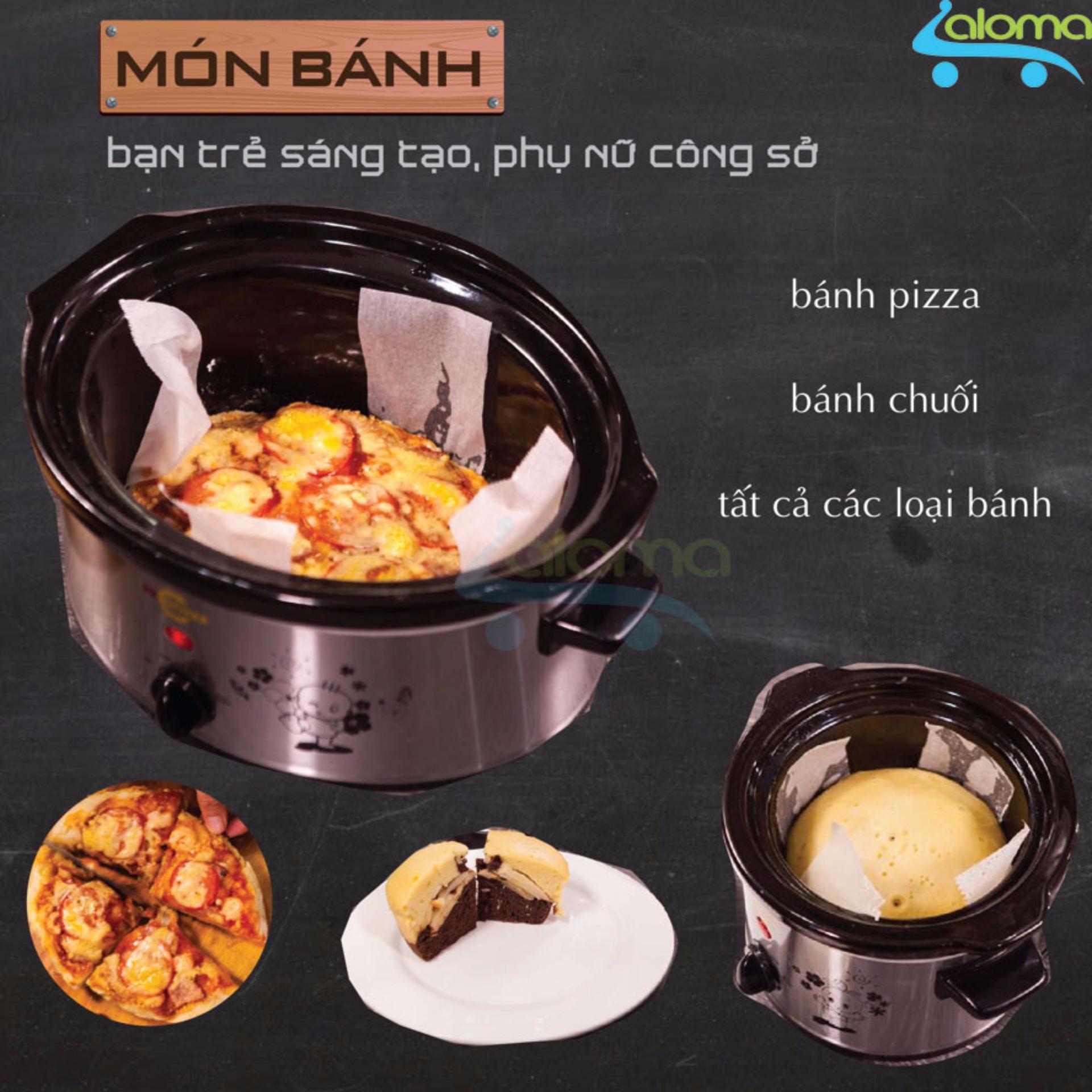 Nồi nấu chậm hầm kho nấu cháo dinh dưỡng 1.5 lít BBcooker BS15