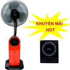 Bảng giá Quạt điện phun sương Midea FS40-13QR có điều khiển  + Tặng bếp điện từ Midea MI-B2115DA trị giá 899,000vnd