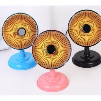 Quạt sưởi mini Heater 5inch để bàn nhỏ gọn, tiện dụng (Đen) - 4