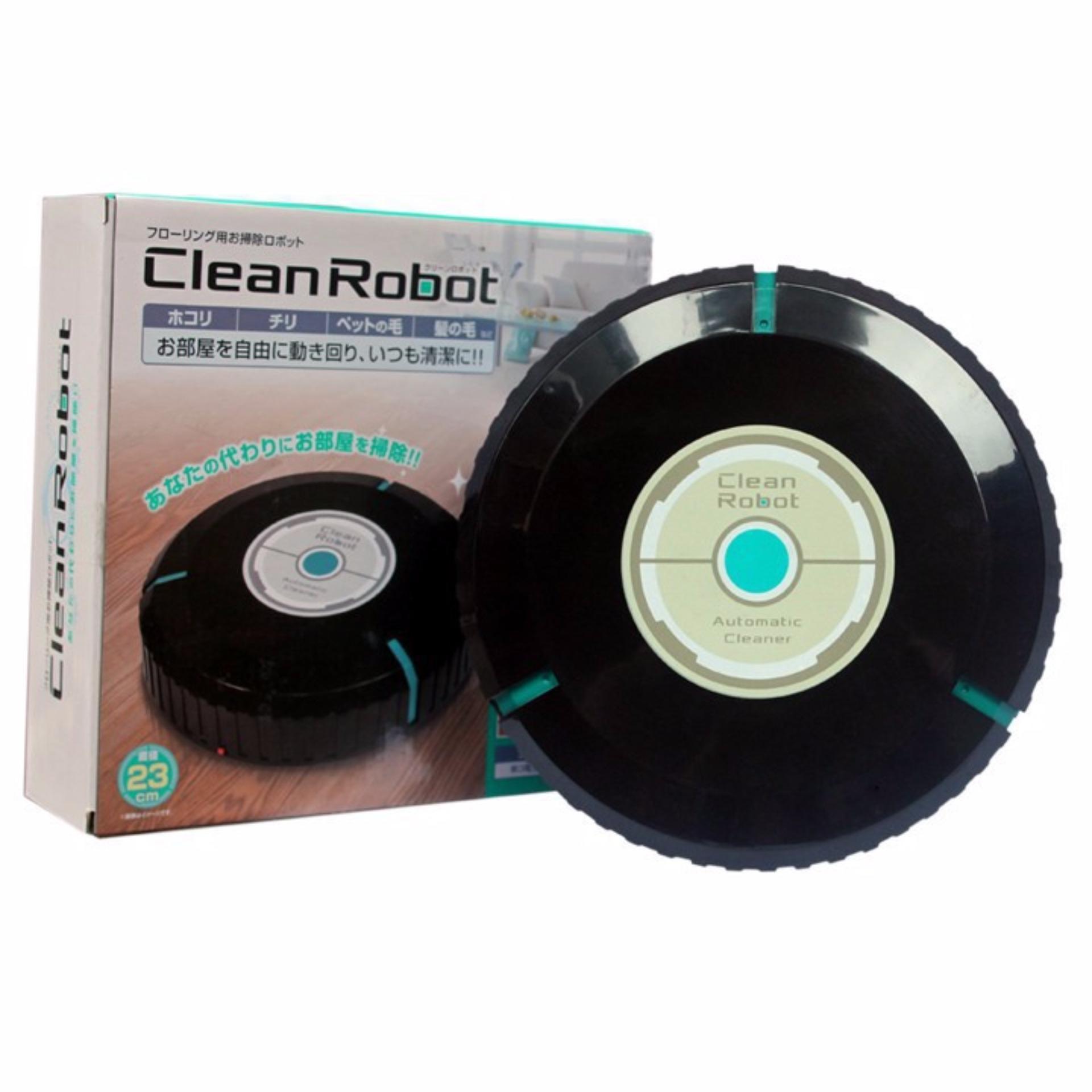 Robot lau nhà cảm ứng tự động mặt đất Clever Mart + Tặng túi điệnthoại chống nước