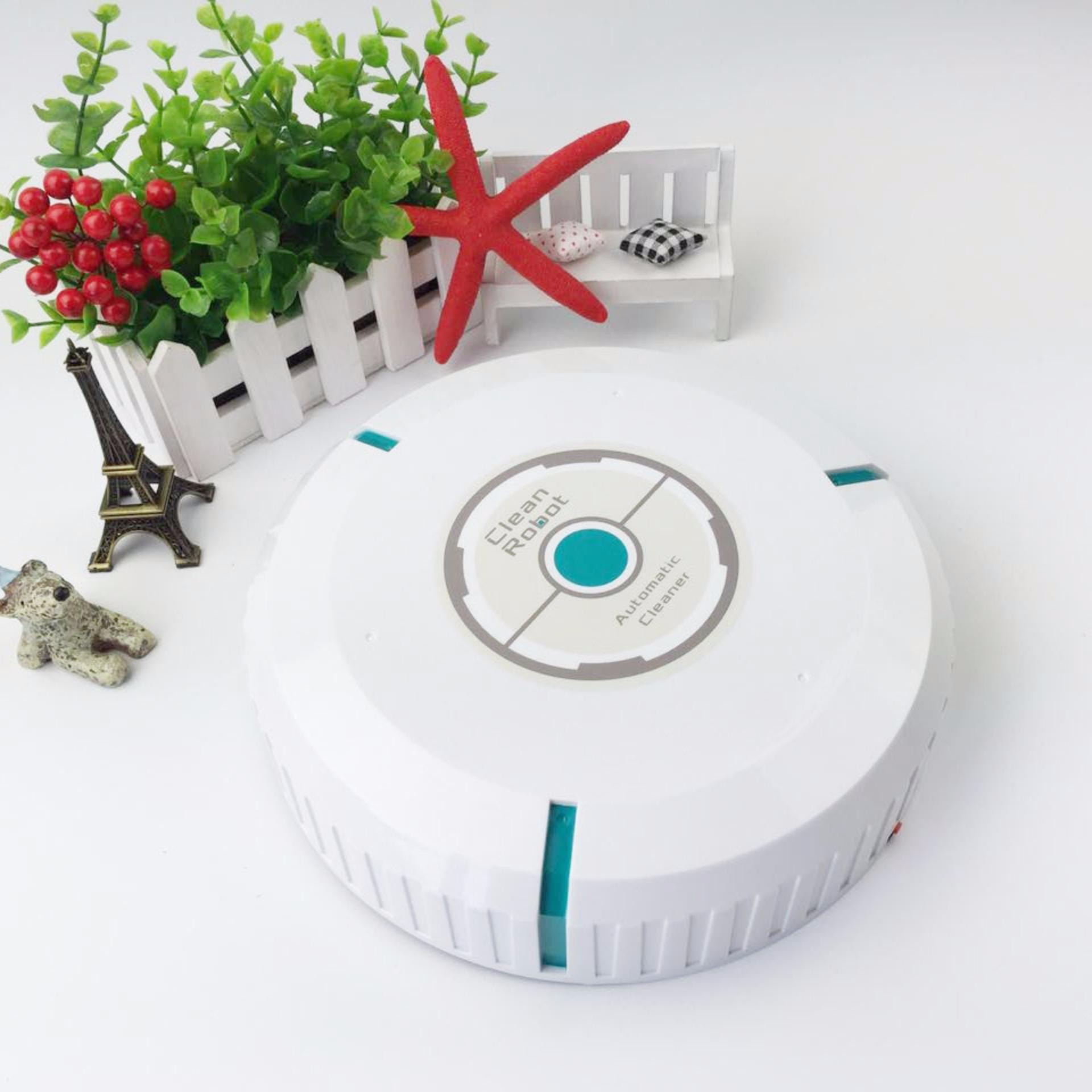 Robot lau nhà cảm ứng tự động + Tặng que thông cống Sani Stick