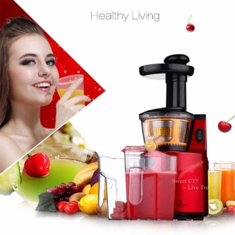 SAVTM Slow Juicer 250W Fruits Vegetables Low Speed Slowly Juice Extractor Juicers Fruit Drinking Machine For Home - intl
