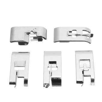 Sewing Machine Presser Foot For All Low Shank Snap-On Singer Brother Babylock KenmoreJuki New Home - intl