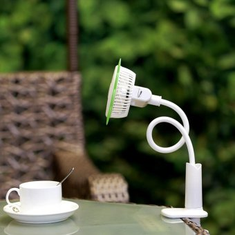 Sunflower Portable & Rechargeable Mini USB Fan Home Appliance - intl