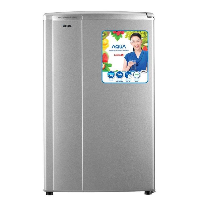 Tủ lạnh 1 cửa Aqua AQR - 95AR(SS) 90L (Bạc)