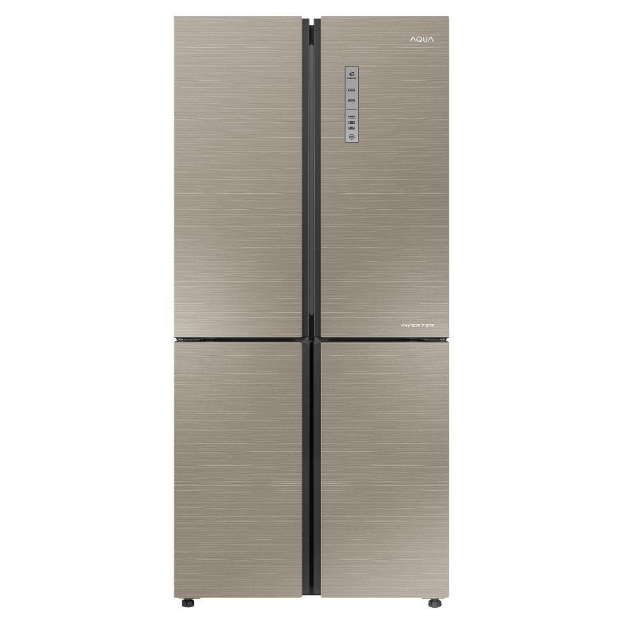 Tủ lạnh Aqua 4 cửa AQR-IG525AM(GS)