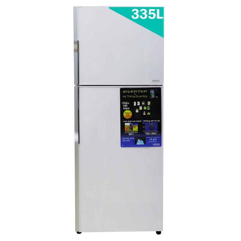 Tủ lạnh Hitachi R-VG400PGV3 (GPW) 335L (2 Cửa) (Bạc)