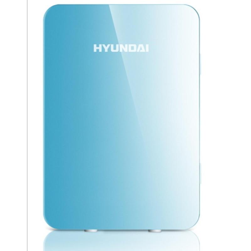 Tủ lạnh Hyundai 20 Lít nguồn vào 12v/220v(Màu xanh Blue) - Hàng nhập khẩu