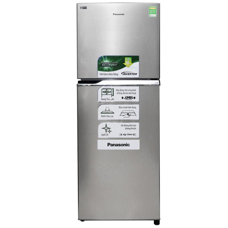 Tủ lạnh inverter Panasonic NR-BL267VSV1 234 lít (Đen)
