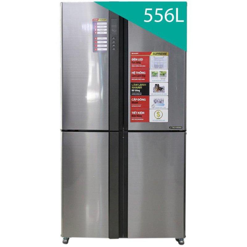 Tủ lạnh inverter SharpSJ-FX630V-ST 626 lít (Bạc)