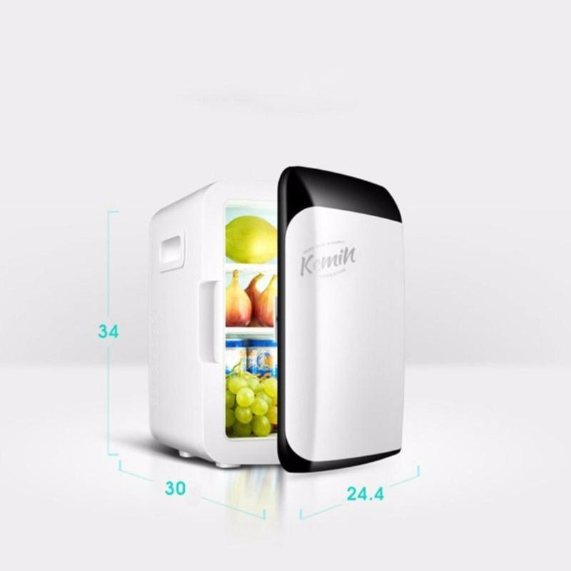Tủ lạnh mini 2 chiều giá rẻ - tủ lạnh sử dụng trong ô tô, hộ gia đình nhỏ 6L
