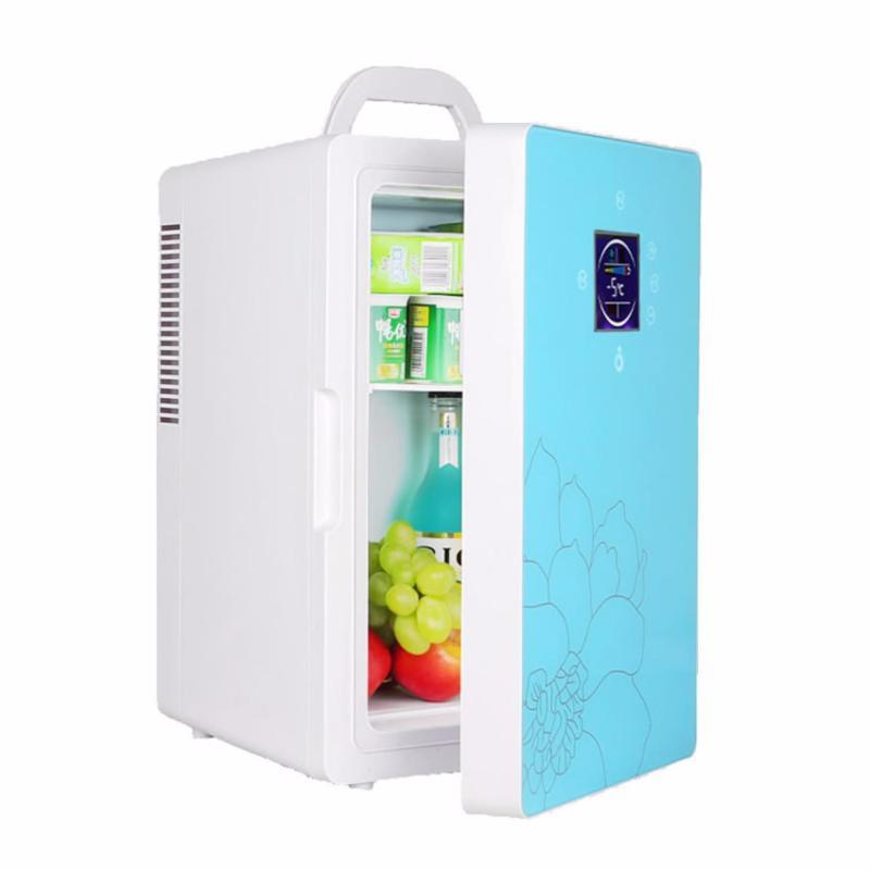 Tủ lạnh mini di động 16L nguồn 12V & 220V (Green)