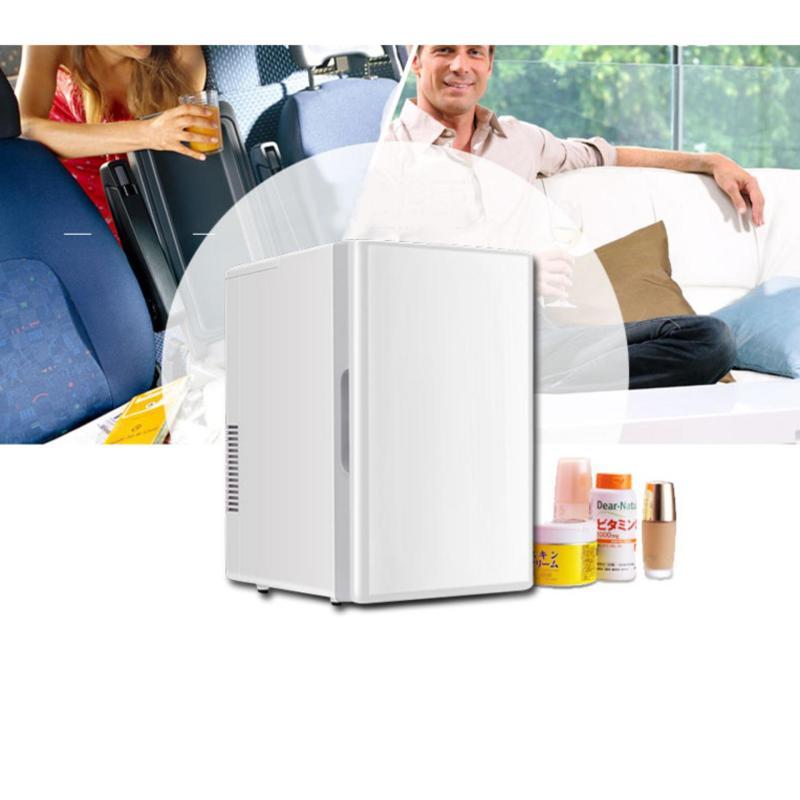 Tủ lạnh mini di động 18L nguồn 12V & 220V (Trắng)