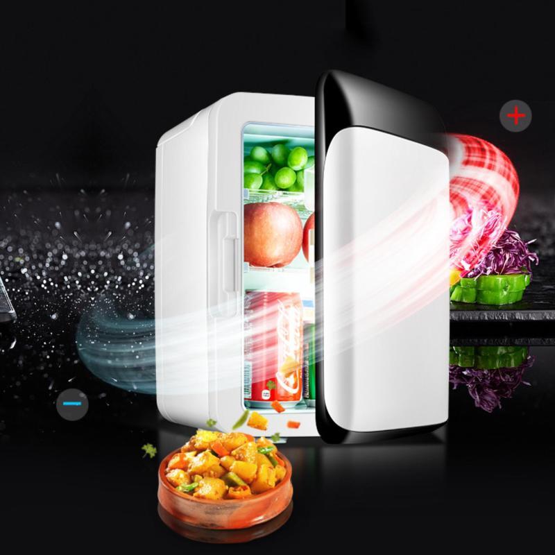 Tủ lạnh mini hộ gia đình và trên xe hơi 10L nguồn 12V và 220V