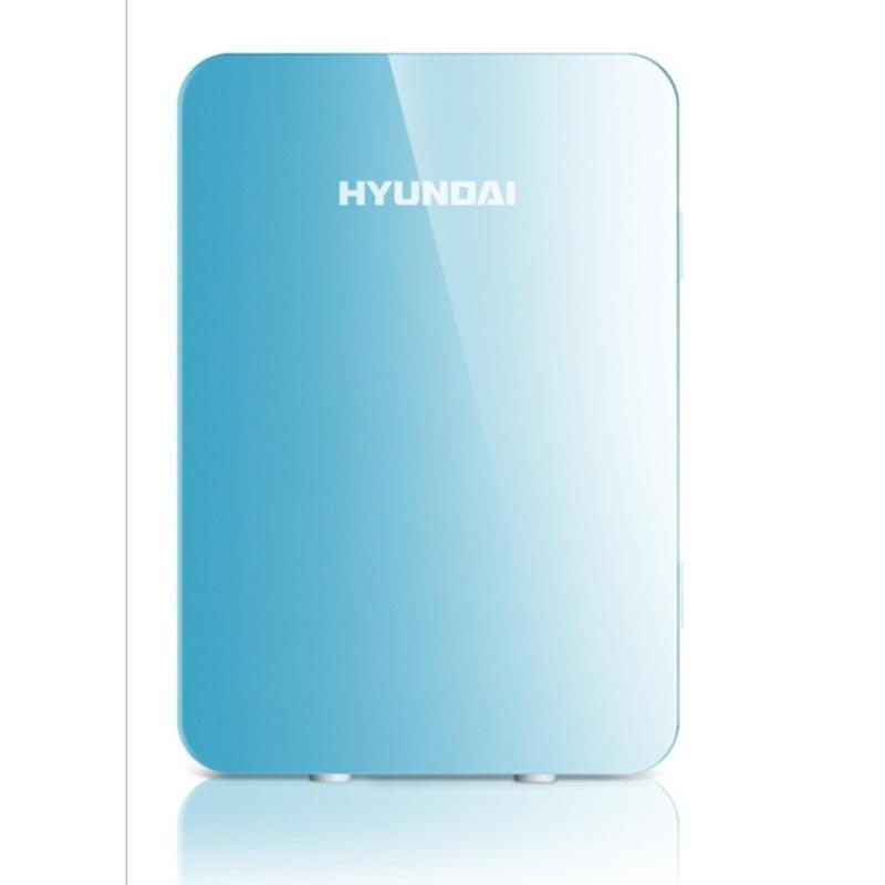 Tủ Lạnh Mini Hyundai 12v/220v (Màu Xanh Blue) - Hàng nhập khẩu