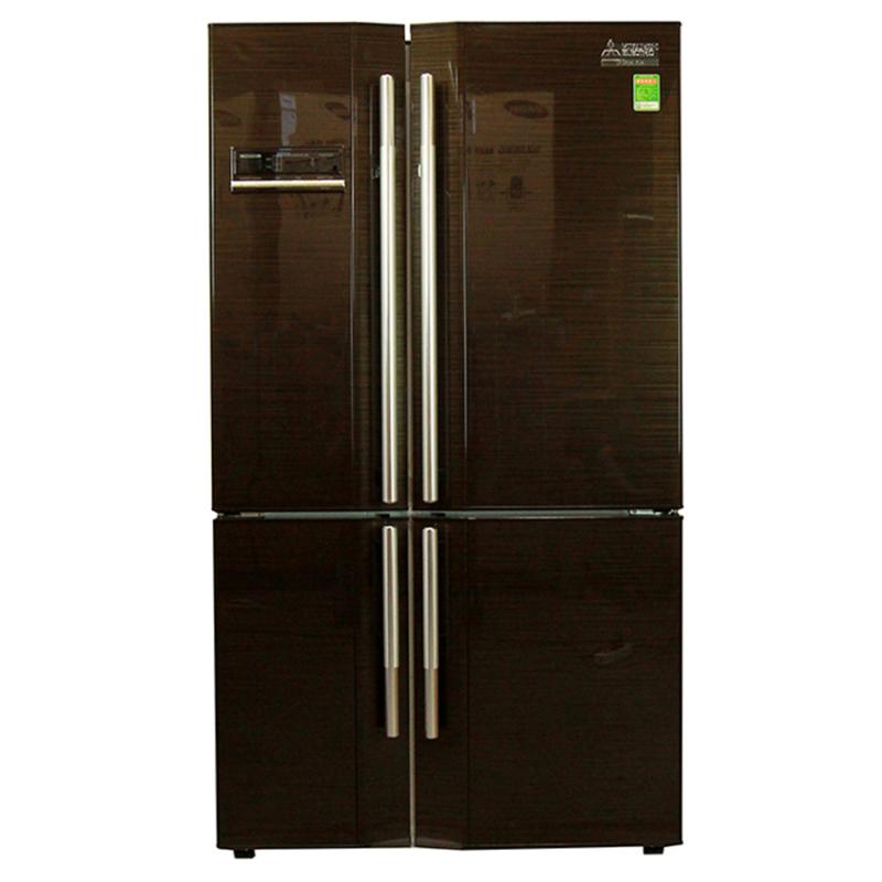 Tủ lạnh Mitsubishi  MR-L72EH-BRW-V 580L (Đen)
