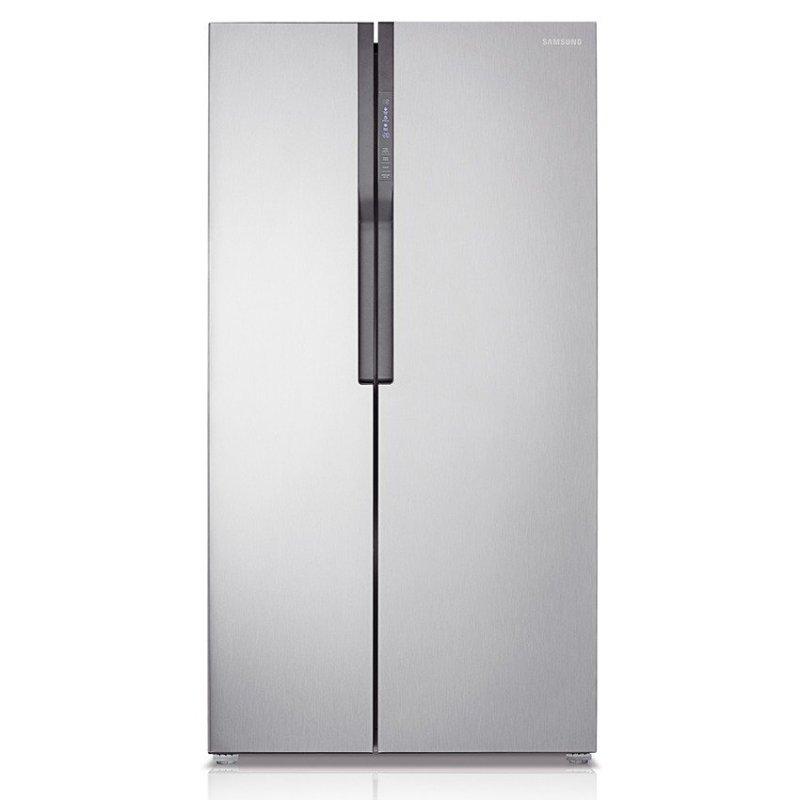 Tủ lạnh Side By Side Samsung RS554NRUA1J 591L (Trắng rượu mặt gương)
