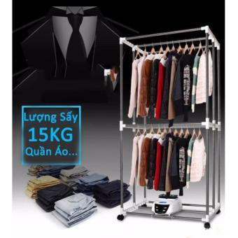 Tủ sấy quần áo cao cấp có điều khiển từ xa