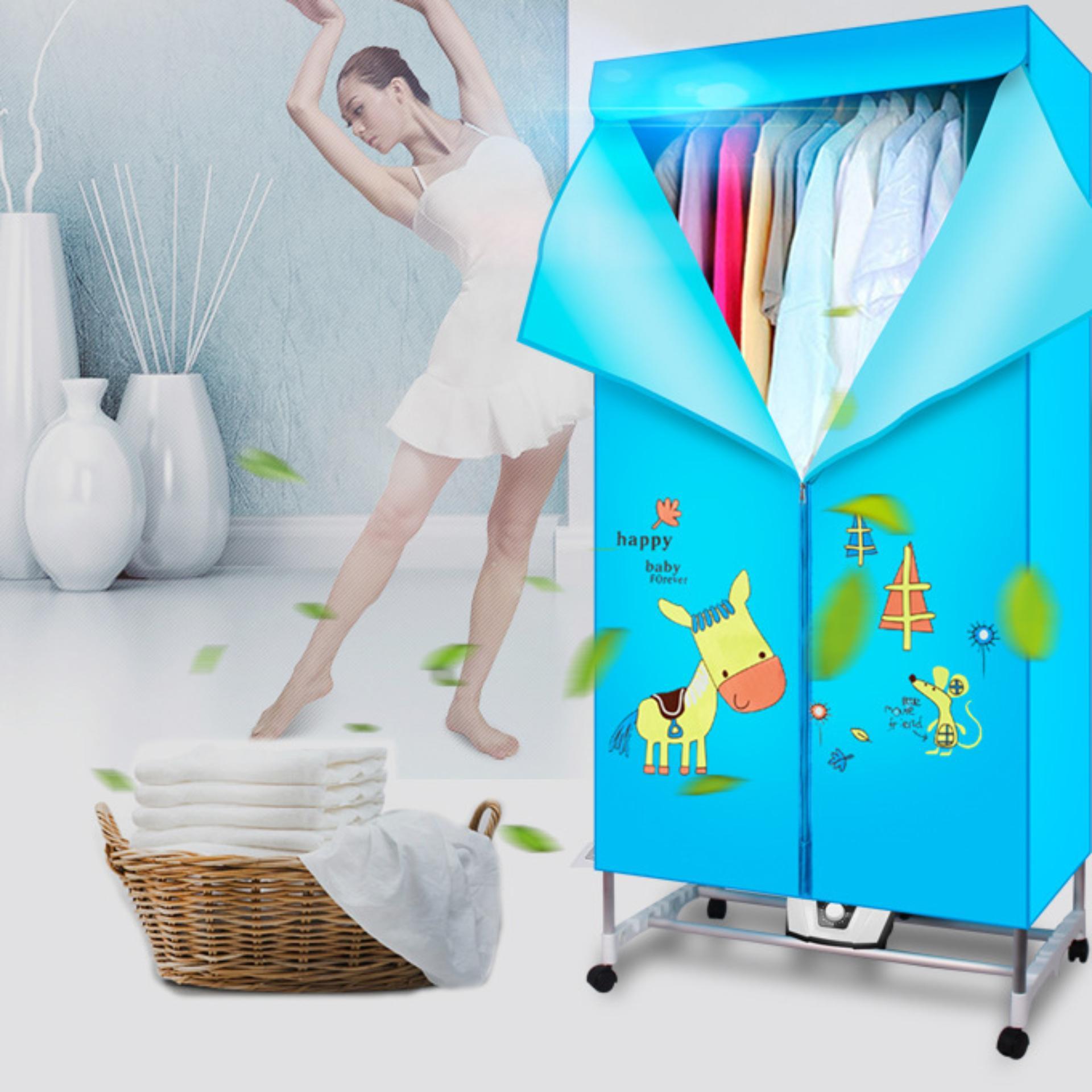 Tủ sấy quần áo gia đình lắp ghép Clothes Dryer