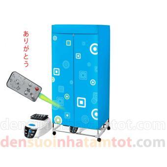 Tủ sấy quần áo Panasonic HD-882F khung inox, điều khiển cơ