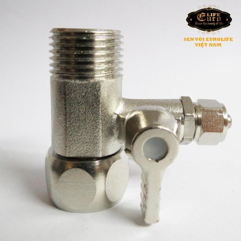 Van 3 chiều cho máy lọc nước RO Eurolife EL-V3 (Trắng bạc)