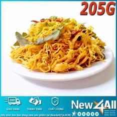 Nơi mua 01 gói (205gram) Chà Bông Gà Lá Chanh xé cay New4all (Tp.HCM)