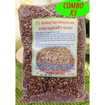 1.5kg Cơm gạo lứt rang theo phương pháp OSAWA