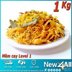 1Kg – Combo 2 túi Khô gà lá chanh New4all (500g x 2 túi) thương hiệu Ánh Sao (Mềm Cay cấp độ 1)