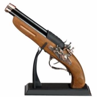 Bật lửa dùng gas hình cây súng báng gỗ