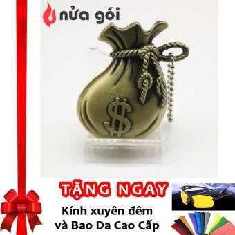 Bật lửa khò kiêm móc khóa kiểu bịch tiền Dollar Box F40 (vàng đồng) + Tặng kính xuyên đêm và bao da cao cấp - 8660541 , OE680WNAA4WYB0VNAMZ-9057976 , 224_OE680WNAA4WYB0VNAMZ-9057976 , 160000 , Bat-lua-kho-kiem-moc-khoa-kieu-bich-tien-Dollar-Box-F40-vang-dong-Tang-kinh-xuyen-dem-va-bao-da-cao-cap-224_OE680WNAA4WYB0VNAMZ-9057976 , lazada.vn , Bật lửa khò kiêm