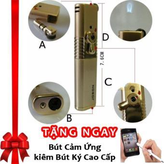 Bật lửa ma trơi có khóa an toàn Jobon F174 (Vàng) + Tặng bút cảm ứng kiêm bút ký - 8660540 , OE680WNAA4WYAYVNAMZ-9057974 , 224_OE680WNAA4WYAYVNAMZ-9057974 , 240000 , Bat-lua-ma-troi-co-khoa-an-toan-Jobon-F174-Vang-Tang-but-cam-ung-kiem-but-ky-224_OE680WNAA4WYAYVNAMZ-9057974 , lazada.vn , Bật lửa ma trơi có khóa an toàn Jobon F174 (