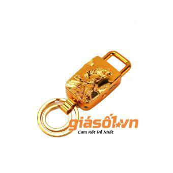 Bật lửa sạc điện USB,đèn pin + móc khóa Hổ vàng
