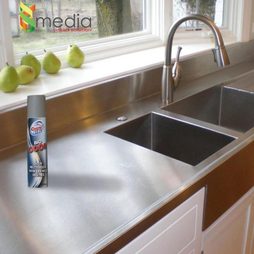 Bình Xịt Khử Mùi Sinh Học(nhập ngoại) cho nhà ở, phòng làm việc: CLEANS BERG BIO ODOR