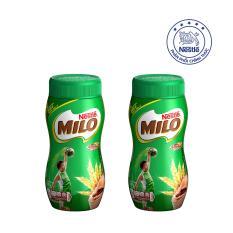 Giá Khuyến Mại Bộ 2 Hũ Nestlé MILO® Nguyên Chất dạng bột (Hũ 400 g)