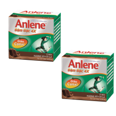 Bộ 2 lốc Anlene Concentrate Chocolate 4x125ml
