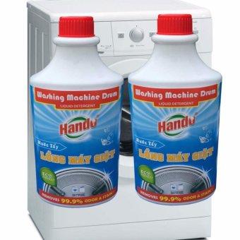 Bộ 2 Nước tẩy chuyên dụng vệ sinh lồng máy giặt Hando TI622