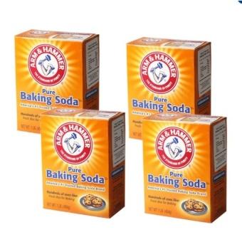 Bộ 4 hộp Bột nở Baking Soda đa công dụng 454g