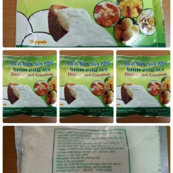 Bộ 5 gói 200g Cơm dừa sấy khô Định Phú Mỹ - loại hạt nhỏ