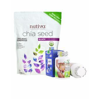 Bộ Hạt chia Nutifood Nutiva Organic Chia Seed 907g và Viên uống hỗtrợ giảm cân Rich Slim USA 60 viên - 8368969 , NU779WNAA340OSVNAMZ-5424213 , 224_NU779WNAA340OSVNAMZ-5424213 , 2100000 , Bo-Hat-chia-Nutifood-Nutiva-Organic-Chia-Seed-907g-va-Vien-uong-hotro-giam-can-Rich-Slim-USA-60-vien-224_NU779WNAA340OSVNAMZ-5424213 , lazada.vn , Bộ Hạt chia Nutifoo