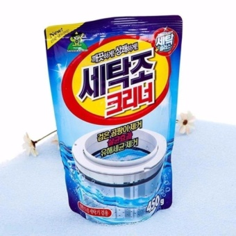 Bột tẩy lồng máy giặt Hàn Quốc giúp bạn vệ sinh sạch sẽ lồng giặt