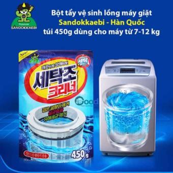 Bột vệ sinh và khử mùi lồng máy giặt Hàn Quốc