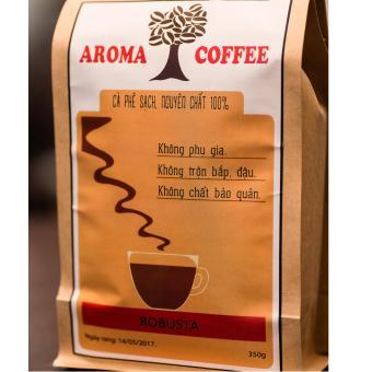Cà phê nguyên chất, rang mộc ROBUSTA 350g