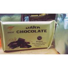Chocolate đen làm bánh 75% cacao Figo 1kg