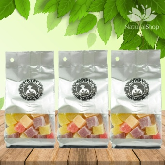 Combo 03 túi kẹo thập cẩm dẻo L